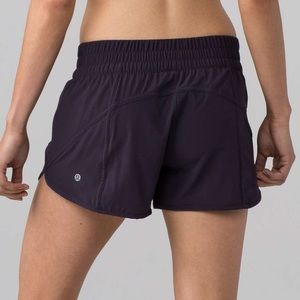 Lululemon Tracker Shorts Dark Purple